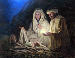 Let us Adore Him. Painting bu Jon McNaughton