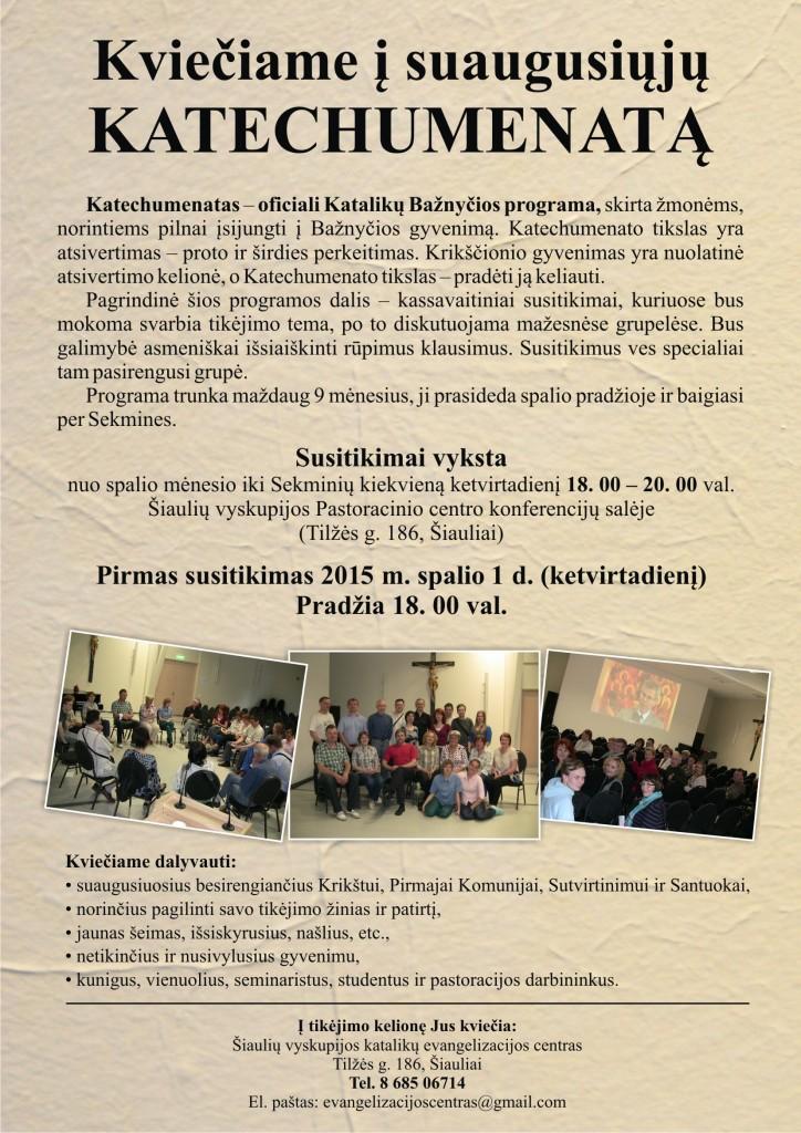 rimantas katechumenatas2015
