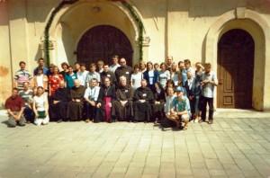 2001 liepa - pirmoji karmelitiško karmelitų stovykla Linkuvoje