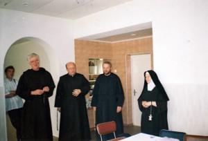 2002 liepa - antros karmelitų stovykla, lektoriai, prie s.Teresės t, Klemensas (vadovas)
