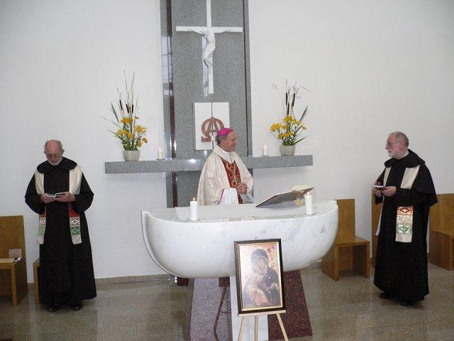Nuolatinė vysk. Bartulio globa (apsilankymas kiekv. metais rekolekcijose ir kartu mišių šventimas