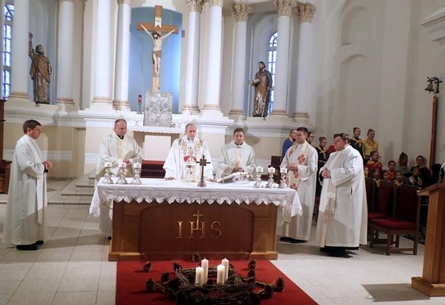 Šiaulių vyskupijos globėjos iškilmė 2016
