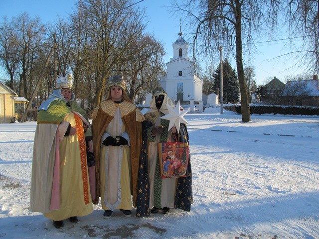 Trys Karaliai Skaistgirio miestelyje
