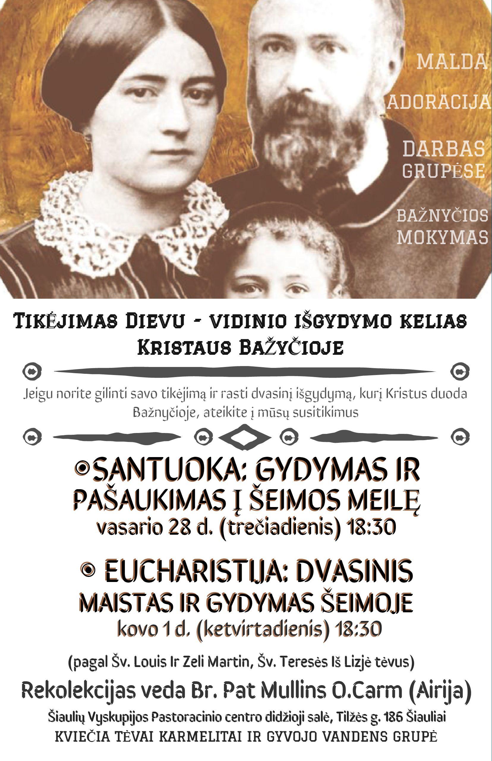 Sakramentai Santuka ir Eucharistija