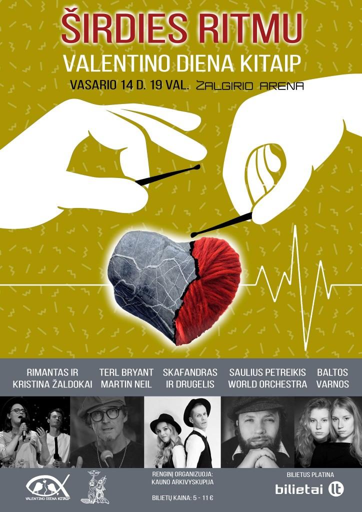 valentino dienos plakatas
