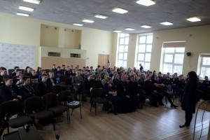 Blaivybės brolijos apsilankymas mokykloje 2018-02-06