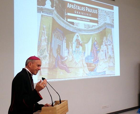 2020 m. Vyskupo kalendroriaus pristatymas