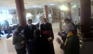 R. Dailidės paroda, skirta popiežiaus atminimui