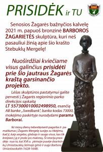 parama skulptūrai